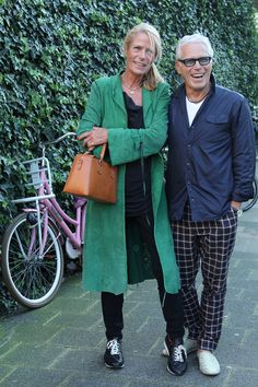 shoe designer Fred de la Bretoniere and his partner Suzanna