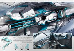 BMW Motion by Benjamin Pérot... messy yet clean, simple punch render style, dramatic views.