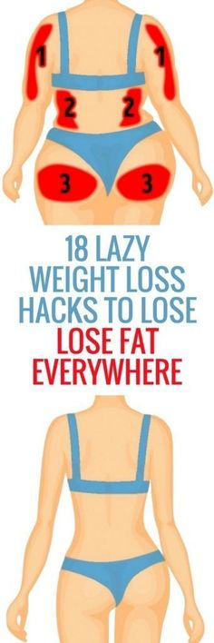 Here Are 18 Lazy Weight Loss Hacks To Lose Some Serious Weight!!! - Way to Steal Healthy