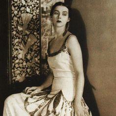 Photographie d'une robe de Vionnet par Steichen - Vionnet - Couturiers