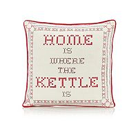 'Home is where the kettle is'