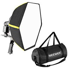 """HOT PRICES FROM ALI - Buy """"Neewer Professional Collapsible Hexagonal Softbox Folding Softbox Diffuser Handle Grip for Yongnuo/Godox Speedlights"""" from category """"Consumer Electronics"""" for only USD. Studio Equipment, Photo Equipment, Photo Lighting, Photo Accessories, Photography Tutorials, Black N Yellow, Photo Studio, Consumer Electronics, Baby Strollers"""