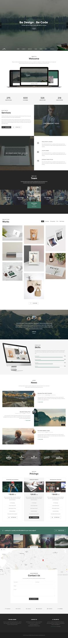 Luvanis is Premium Responsive Retina Parallax #WordPress Theme. Bootstrap 3. If you like this #Multipurpose Theme visit our handpicked list of best #OnePage WordPress Themes at: http://www.responsivemiracle.com/best-responsive-one-page-wordpress-themes/
