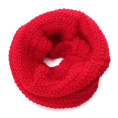 Sale 14% (4.15$) - Baby Children Knitted Scarf Four Color Neck Warmer Wrap