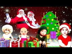 Merry Christmas with Love from Santa and Mrs.Claus Kids Letters Song Cartoon Animation Nursery Rhyme - YouTube