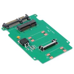 Hot 2.5-inch Green High-capacity high-power Serial mSATA to SATA Adapter #Affiliate