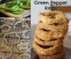 Fried Pepper Rings
