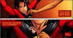 Red Robin Thank goodness Cass saves him but he still manages to bash on Damien Tim Drake Red Robin, Robin Dc, Batman Robin, Gotham Batman, Batman Comic Art, Marvel Dc Comics, Timothy Drake, Batman Arkham Origins, Dc Memes