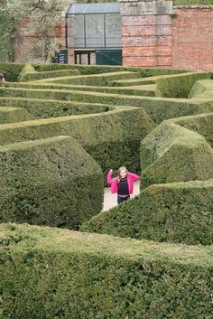 Another great shot of the Blenheim Palace hedges. The elegance of this makes you realise there is more to a maze than just solving it.