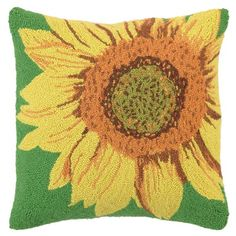 $36 Daisy Hook Pillow in Yellow from Joss and Main!
