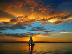 coucher de soleil,paysage