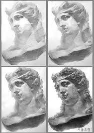 関連画像 Pencil Drawings, Art Projects, Plaster, Statue, Portrait, Baroque, Painting, Charcoal, Google