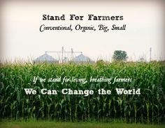 If we stand for living, breathing farmers, we can change the world. Learn how farm size doesn't matter.