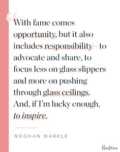 16 Meghan Markle Quotes About Work, Feminism and Staying True to Yourself family markle British Royal Family Tree, Royal Family Trees, Work Quotes, Life Quotes, Meghan Markle Style, Morning Prayers, The Way You Are, Take Care Of Me, Be True To Yourself
