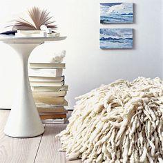 Weiß Wohnzimmer-Ecke Wohnideen Living Ideas Interiors Decoration