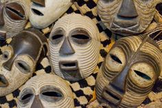From Adele's recent trip to #Rwanda. #masks #Kuba