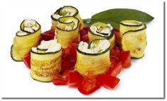 Zucchini Röllchen
