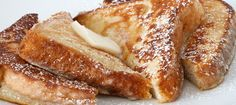 RumChata French Toast. This food recipe calls for RumChata liqueur as its alcoholic counterpart and french bread making for a sweet and savory meal.