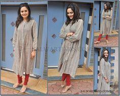 Cotton Shirt and Churidar Pyjamas