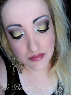Christmas Make-up with The Vice Palette and Illusion d'ombre Vision by Chanel