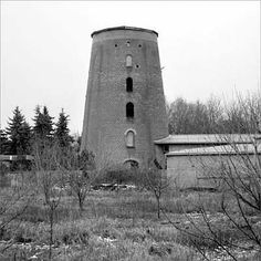Turmholländer, konisch, Stumpf, Ziegelmauerwerk