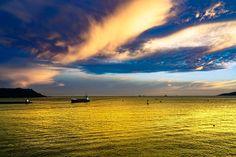 Ship sailing out of Portsmouth Harbour at dusk# 2  Landscapes photo by RajeshMunglani http://rarme.com/?F9gZi