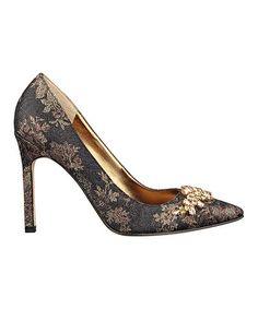 fd87f24171 Look at this  zulilyfind! Bronze Camara Pump  zulilyfinds Stiletto Heels