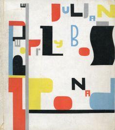 """retroavangarda: """"  Władysław Strzemiński – cover, Julian Przyboś, Z ponad, 1930 """""""
