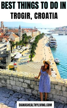 Road Trip Europe, Europe Travel Tips, Travel Guides, Travel Destinations, Cool Places To Visit, Places To Travel, Trogir Croatia, Croatia Travel Guide, Europe Bucket List