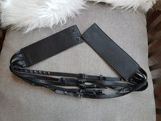 Hommes ceinture en cuir 100/% cuir masquer haute qualité cousu Fabriqué En Italie BNWT