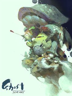 ArtStation - PROJECT, Wenjun Lin