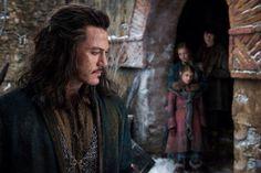 Bard and his kids, Bain, Sigrid and Tilda