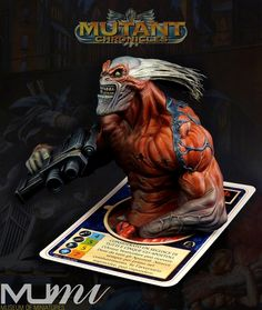 Mutant Chronicles Part 1 - Metropolitan Prophet