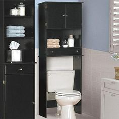 love this storage saver idea for small bathrooms