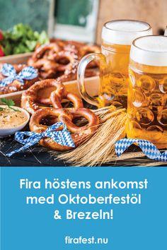 Gör som i Tyskland och fira höstens ankomst med oktoberfestöl och brezeln!  #oktoberfest #brezeln #firafest #höst #oktoberfestöl #öl Oktoberfest Tips, Waffles, Breakfast, Food, Corona, Pretzels, Morning Coffee, Eten, Waffle