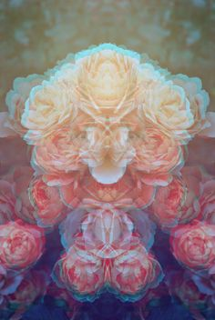 Trippy flower power