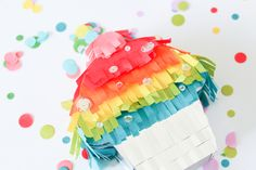 Mini Pinatas by Carissa Wiley for We R Memory Keepers We R Memory Keepers, Diy Party, Mini Cupcakes, Create, Projects, Blog, Design, Ideas, Mini Pinatas