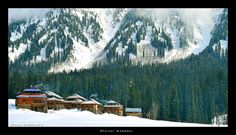 https://flic.kr/p/Etuzur | Arang Kel, Neelum Valley Kashmir Pakistan | A beautiful and snowy morning in Arang Kel Village, Neelum Valley, Kashmir on the Pakistani side.  Feb 2016.