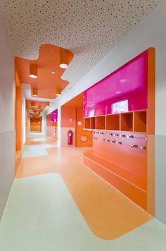 "Grundschule und Kindergarten in Paris ""Claude Bernard"" ZAC, Brenac & Gonzalez Architekten"