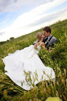 Hey lets go kiss in a field and take a picture. ok.