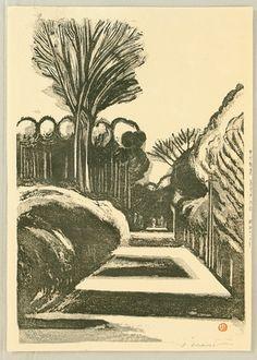 1927-28 - Kasamatsu, Shiro - Takaido on Koshu Highway
