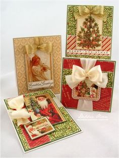 this is the month that I have to start making my cards or I will never get finished.  This Pinner has some great ideas.