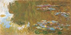 Claude Monet The Water Lily Pond c1917