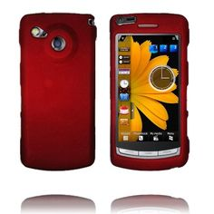 Hard Shell Snap-On (Rød) Samsung i8910 Omnia HD Deksel