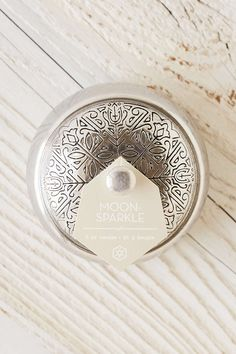 Aspen Bay Candles Boho Embossed Tin Candle - Urban Outfitters