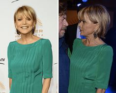 Flattering Bob Hairstyles for Older Women: Uschi Glas's Bob