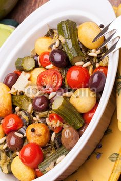 Stock photo at Fotolia: Pan With Stewed Vegetables