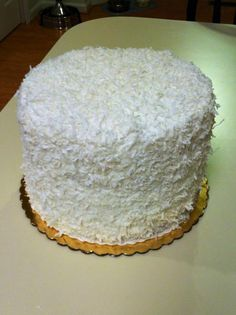 Made for my brother's wedding as a gift for his bride. Cupcake Frosting Recipes, Cupcake Cakes, Food Cakes, Just Desserts, Delicious Desserts, Dessert Recipes, Doberge Cake, Smith Island Cake, Coconut Recipes