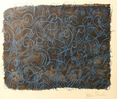 """Ben Shahn """"The Sea Itself""""  Lithograph from the Rilke Suite"""