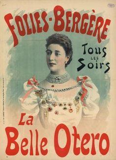 La Belle Otero http://strangeflowers.wordpress.com/2009/11/04/feasts-princes-champagne-2/ http://strangeflowers.wordpress.com/2012/04/04/otero-in-motion/